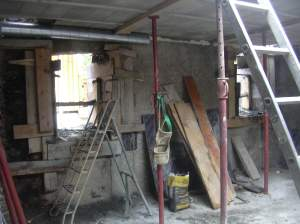 New Floors go in